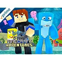 Sharky and Scuba Steve Minecraft Adventures