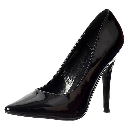 Onlineshoe Mens Womens Drag Queen Crossdresser High Heel Pointed Toe Large Sizes Uk9 Eu43