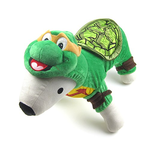Tortoise Dog Costumes (Alfie Pet by Petoga Couture - Quinn Tortoise Costume - Size: Small)