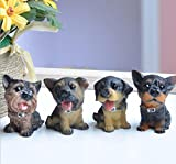 SummerBoom Pack of 12 Poly-Resin Dogs