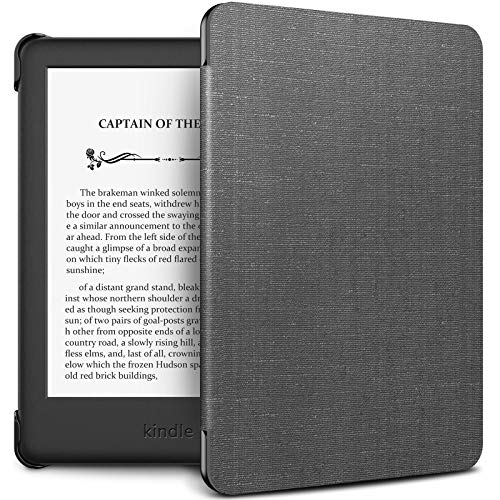 INFILAND Kindle 10th Gen 2019 Case, Shell Case Cover Auto Wake/Sleep Compatible with All-New Kindle 10th Generation 2019 Release Only, Gray (Best Kindle Paperwhite Case 2019)