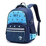 DOURR Premium Backpack for Kids Girls and Boys (sky blue)