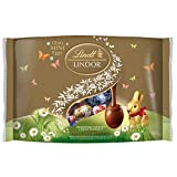Lindt Lindor Easter Mini Eggs Assorted Chocolates Bag, 300g