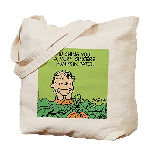 CafePress–sincero calabaza, truco o trato bolsa–gamuza de bolsa de lona bolsa, bolsa de la compra