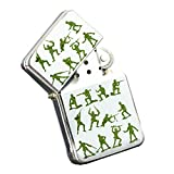 Army Men - Silver Chrome Pocket Lighter by Elements of Space