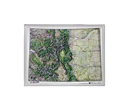 American Educational Colorado Natural Color Relief Map without Frame, 17\