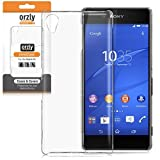 Orzly® - InvisiCase for SONY XPERIA SONY XPERIA Z3+ (Z4 in Japan) - 100% CLEAR (100% Transparent Colour) Protective Phone Cover Shell for use with the SONY XPERIA Z3 PLUS SmartPhone (2015 Model)