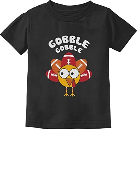361b357160 Amazon.com: Little Turkey Thanksgiving Gobble Toddler/Infant Kids T ...