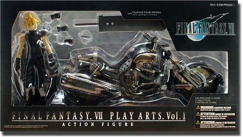 コトブキヤ PLAY ARTS FINAL FANTASY VII クラウド & ハーディデイトナ B000W06962