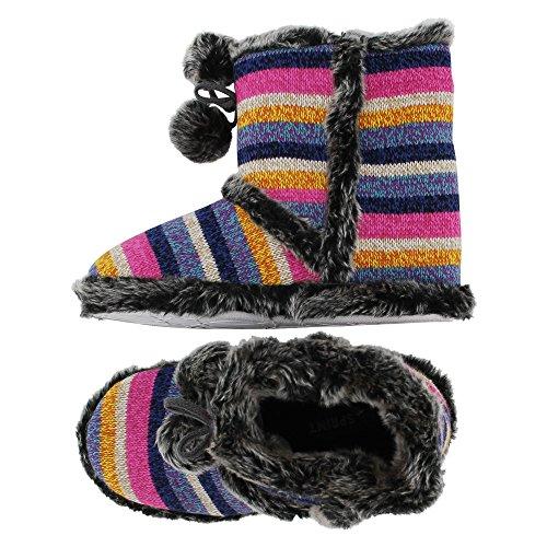 Purple Women's brandsseller Back Slippers Pink Open Hx1RZwqvBx