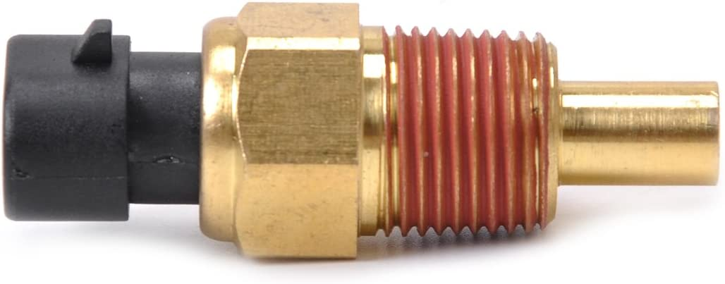 Qiilu Engine Coolant Temperature Sensor for GMC Chevrolet Buick Cadillac Jeep Isuzu TX3 05744030 1004