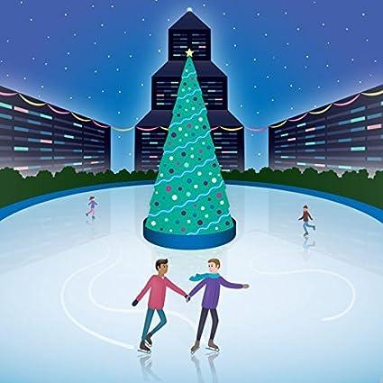 Amazon gay festive couple gay christmas card same sex gay festive couple gay christmas card same sex christmas card interracial couple m4hsunfo