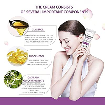 GMaxit Whitening Cream for Dark Skin Armpit Elbow Lightening Bikini Underarm Thigh Best Gift for Women Beauty Skin Care 50G