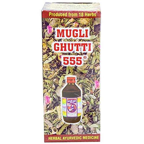 (Pack of 2) MUGLI GHUTTI 555 100ml New
