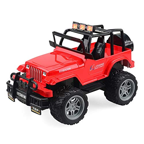 XuBa 1:18 Rc Car 1/24 Scale 4wd Off Road Rc Crawlers 4x4 Lipo Mini Monster Truck RTR Rock Crawler with Lights White