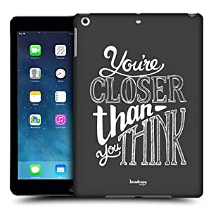 Head Case Designs Closer Hand Drawn Typography Protective Snap-on Hard Back Case Cover for Apple iPad Air