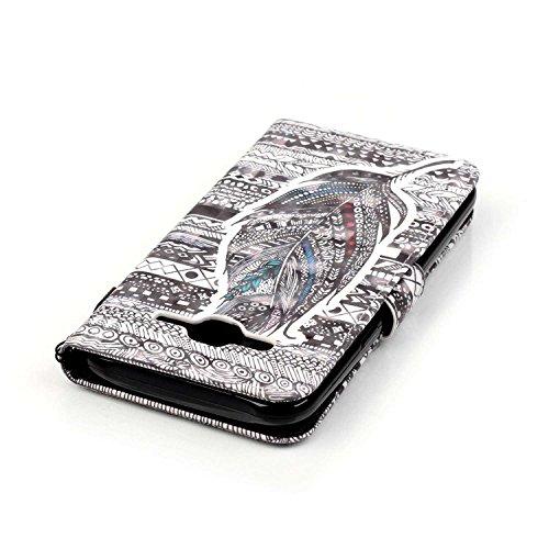 Funda Samsung Galaxy J5 (2015 edicion) Sunroyal ® [Cierre Magnético] Bookstyle para Samsung Galaxy J5 SM-J500F (2015 edicion) Funda Ultra Slim PU Cuero Flip Stand Feature Rosa Caso Leather Wallet Cásc Z-12