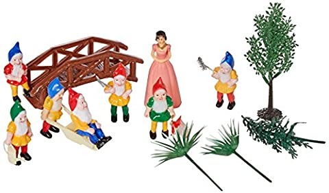 Oasis Supply Snow White and 7-Dwarves Cake Kit - Snow White Pictures
