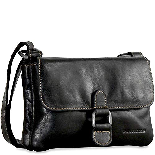 (Jack Georges Voyager Small Crossbody bag (Black) )