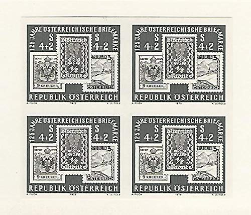 Austria, Postage Stamp, B339 Imperf Block Mint NH, 1975, JFZ ()