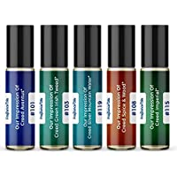 Men's Top 5 Niche Cologne Impressions #1 (Generic Versions of Niche Designer Fragrance) Sampler Gift Set of 5 10.35ml…