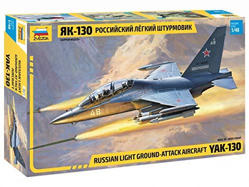 Zvezda 4821 Russian Light Ground-Attack Aircraft YAK-130. Model Kit 1/48.