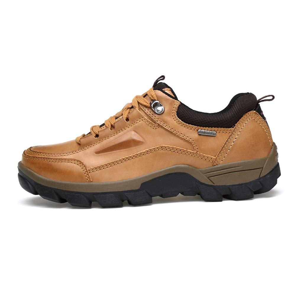 LYY.YY Männer Draussen Wanderschuhe Atmungsaktiv Dauerhaft Wasserdicht Creek Schuhe Feld Felsklettern Turnschuhe Walking Trekkingschuhe