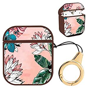 Amazon.com: Wireless Airpod Case Tropical Flowers Leaves