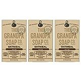oatmeal The Grandpa Soap Company Oatmeal (4.25oz) (3-pack)