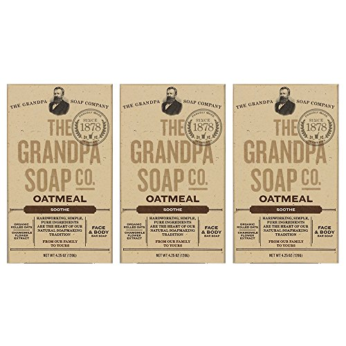 The Grandpa Soap Company The grandpa soap company oatmeal (4.25oz) (3-pack)