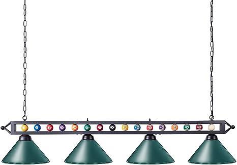 Retro Pool Billiard Snooker Table Light Pendant Chandelier Lamp Sport Bar Gift