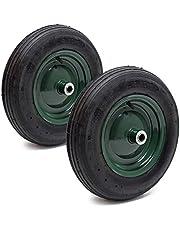 2 x kruiwagenwiel compleet wiel 3.50-8 kruiwagen wiel velg luchtbanden