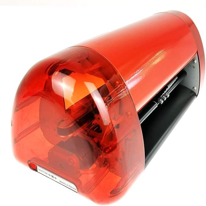 MXBAOHENG Cortador de Vinilo Mini Plotter Trazador Firmar Pegatina Tallado Maquina de Cortar 195 * 2000mm: Amazon.es: Hogar