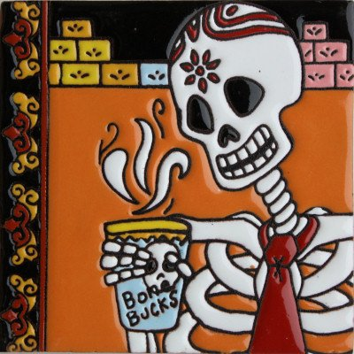 6x6-coffee-time-day-of-the-dead-clay-tile