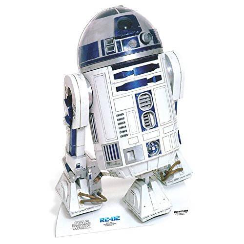 Star Cutouts SC471 Official Star Wars Lifesize Cardboard Cutout R2-D2]()