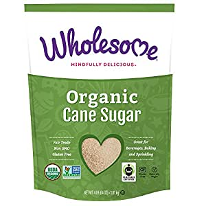 Wholesome Sweeteners Organic Cane Sugar, 64 Ounce