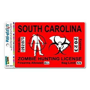 Graphics And More South Carolina Sc Zombie