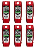 hardest Old Spice Hardest Working Collection Dirt Destroyer Body Wash, Lasting Legend, 16.0 Ounce (Pack of 6)