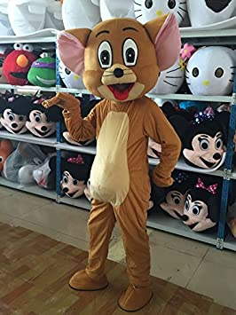 JERRY MOUSE Unisex Mascot Costumes Free shipping