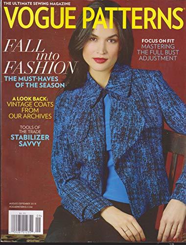 Vogue Patterns Magazine August/September 2018 ()