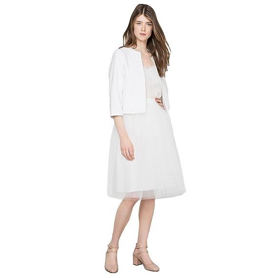 La Redoute Mademoiselle R para Mujer Falda de Tul Blanco Perla ...