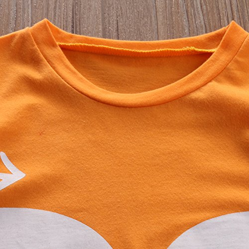 Newborn Baby Boy Girl Fox Romper Summer Jumper Playsuit Outfits (3-9 Months)