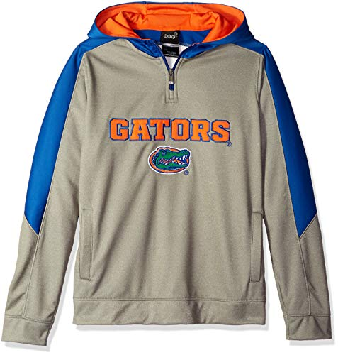 NCAA by Outerstuff NCAA teen-boys NCAA by Outerstuff NCAA Youth Boys Illustrious 1/4 Zip Hooded Jacket