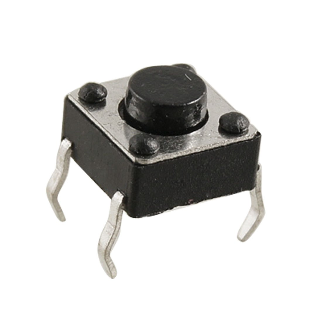 20 Pcs 6x6x4.3mm 4 Pins DIP Through-Hole Momentary Tact Tactile Switch Sourcingmap SYNCELEC000801