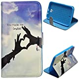 Voguecase® For BLU Studio 6.0 HD D650a,Slim Fit PU Leather Case Cover with Stand (complete) & Card Slots with Free Universal Screen-stylus