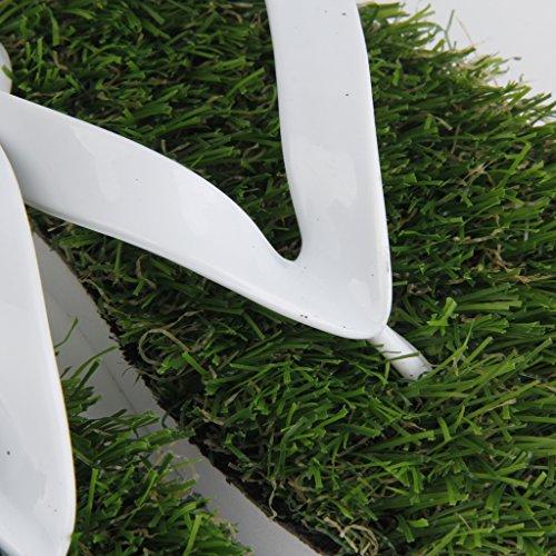 Artificial de 45 Césped Tamaño de Zapatillas Sandalias 67wPIH
