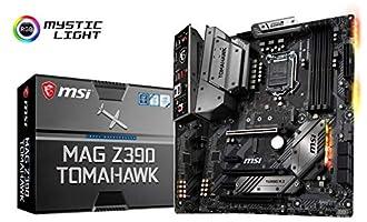 MSI MAG Z390 Tomahawk LGA1151ATX Z390 Gaming Motherboard Z390TOMAHAWK