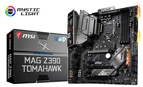 (MSI MAG Z390 Tomahawk LGA1151 (Intel 8th and 9th Gen) M.2 USB 3.1 Gen 2 DDR4 HDMI DP CFX Dual Gigabit LAN ATX Z390 Gaming Motherboard)