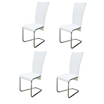 chaises salle manger blanches fabulous chaise salle a manger blanc valentina chaises de salle. Black Bedroom Furniture Sets. Home Design Ideas