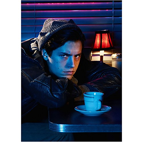 Riverdale Cole Sprouse as Jughead Jones Leaning on Diner Table 8 x 10 Inch Photo (Jughead Jones)
